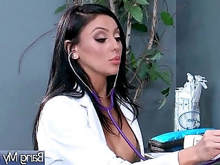Hard Sex Between Doctor And Hot Patient Audrey Bitoni video