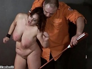 Bbw slaves electro bdsm and three crying submissive mercilessly tortured