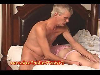 Daddy FUCKS his sleeping TEEN and EATS ASS