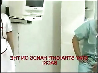 Russian Doctor Spank a bad Nurse