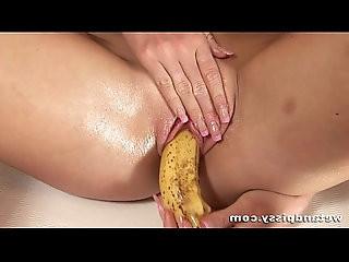 Keithy pissing in her pink panties