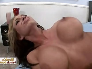 Cheating and getting her pussy pounded with no mercy in front of her boyfriend