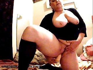 Dildo solo years BBW housewife with big boobs