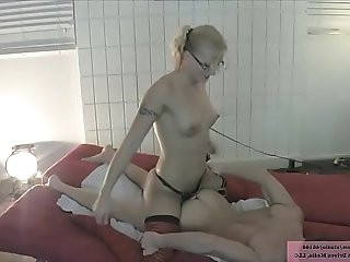 Jc simpson fucks her boyfriend in the ass with a strap