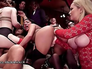 Orgy bdsm with anal fisting