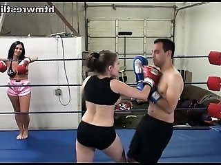 Femdom Boxing Beatdowns Wimp Gets Dominated