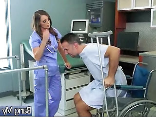 Doctor Treat With Hard style Bang A Sexy hot Patient jamie jackson movie