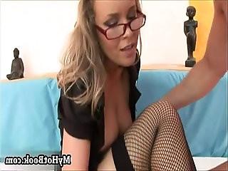 Colette is a drop dead gorgeous blonde secretary