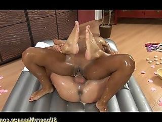 real slippery nuru massage sex