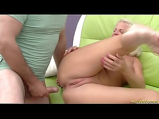 crazy years old granny rough anal fucked