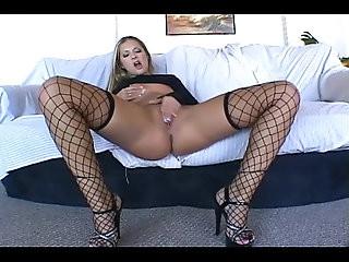 Chelsea Rae masturbates in lingerie