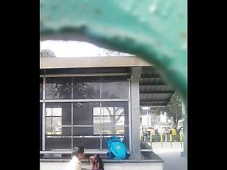 Ina Delhi Metro Station Caught On Cam.