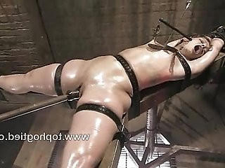 Ten gets tied and made to cum repeatedly