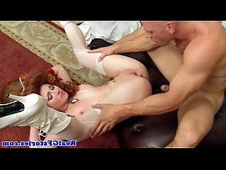 Real gf in costume drilled with my cock