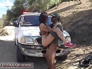 Police brutal bang Latina Fucked By the Law