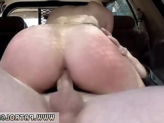 Cop mother and interracial gangbang police Pale Cutie Banging on the