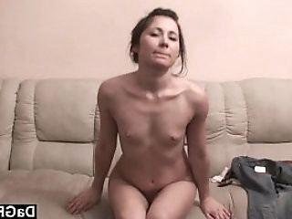 Flat chest on this exotic ex girlfriend